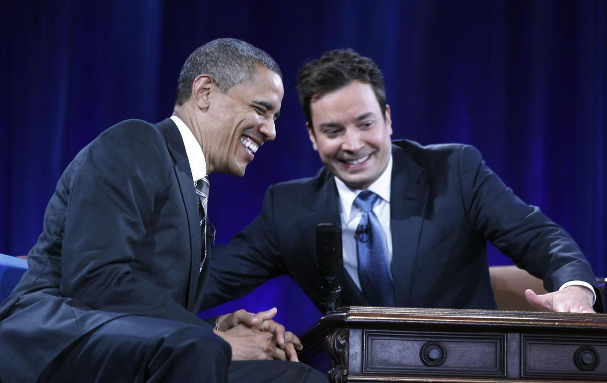 President pushes for lower student loans, but also cuts up on Jimmy Fallon show