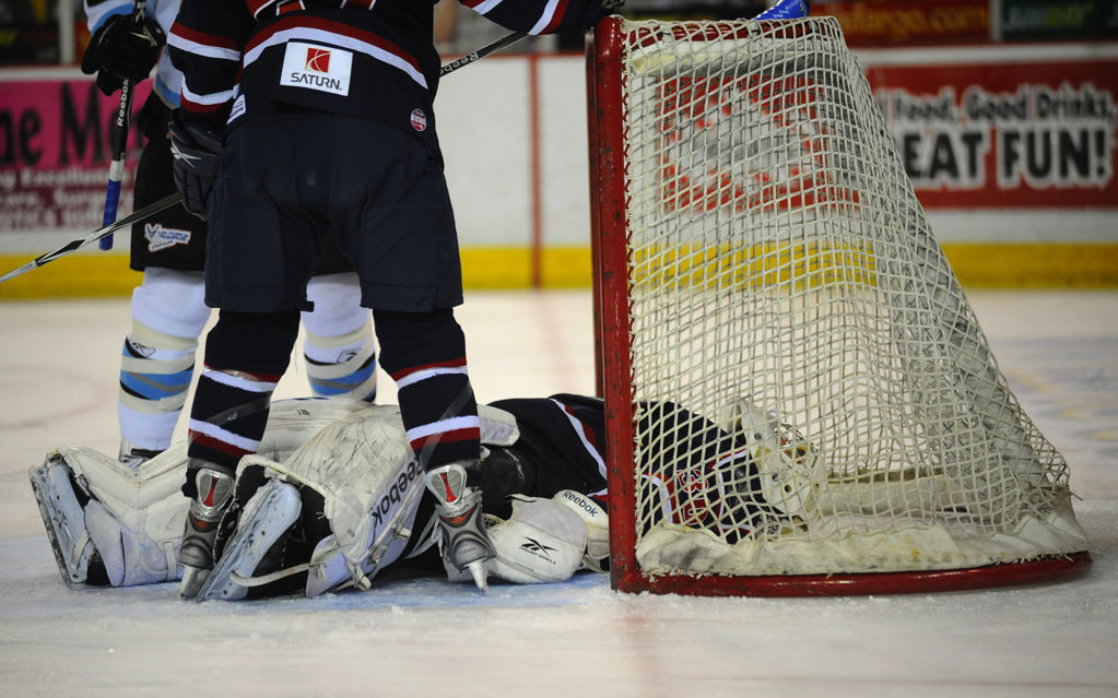 Stingrays in Kelly Cup Game 2
