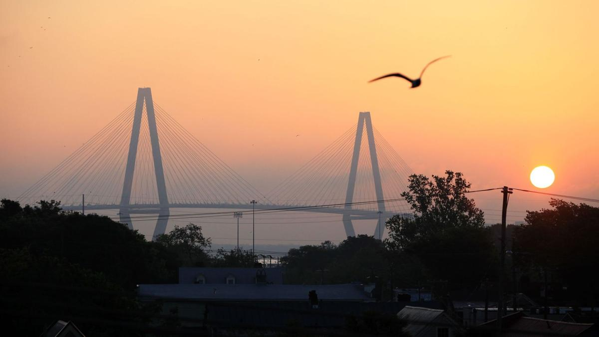 Fog gives way to another sunny, 80-degree day in Charleston