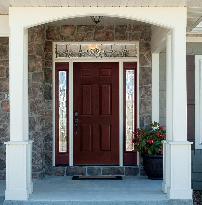 Step up curb appeal with new entry door, glass panels