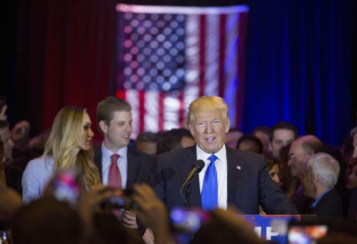 Trump triumphs as an authentic phony