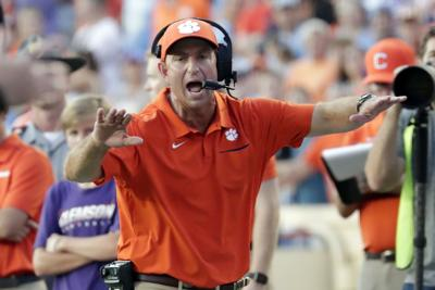 Clemson North Carolina Football