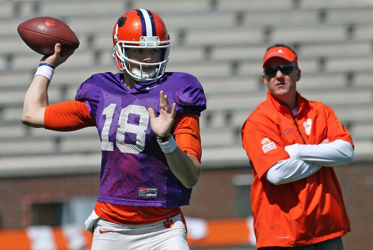 Busy day in April: Stoudt, McDaniels take the podium while Dabo, Kiper heed the call