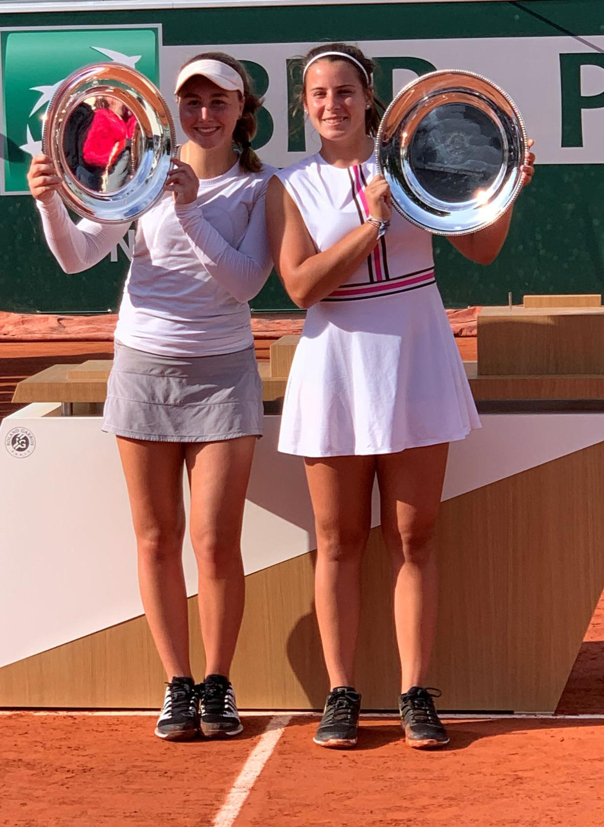 Emma Navarro Chloe Beck Junior French Open