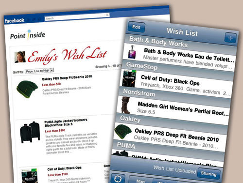 'Wish List' shopping app works in stores, airports