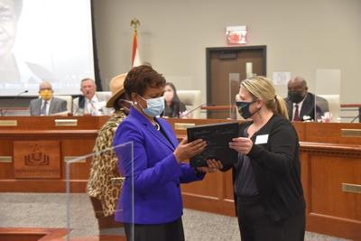 Berkeley County school board honors the passing of Wilhelmina J. Moore