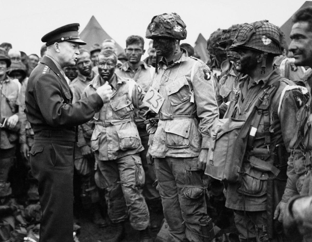 Gen. Dwight D. Eisenhower Troops