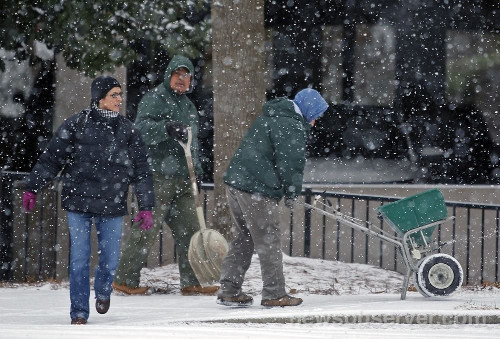 Another winter wallop: Cold, snow, ice again for much of US