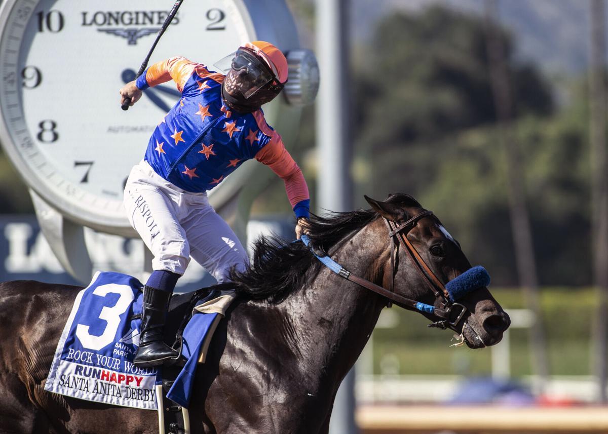 Santa Anita Derby Horse Racing