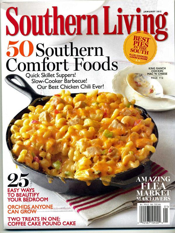 Charleston food scene in magazine