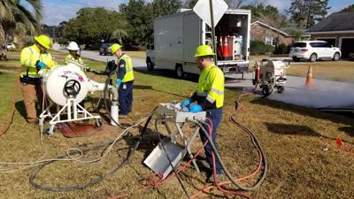 Charleston Water System liner install (copy)