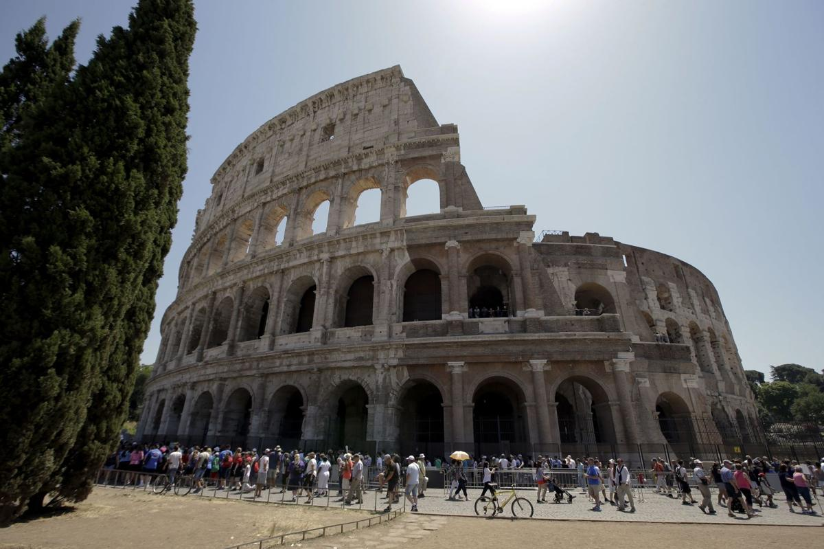 Colosseum sparkles after magnate-funded restoration