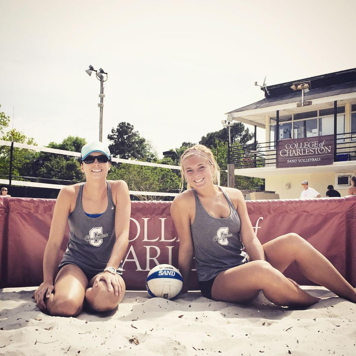 C of C duo gets shot at sand volleyball title