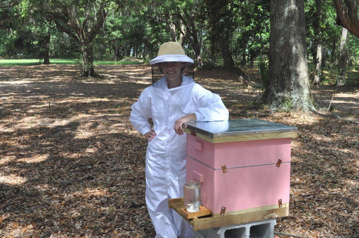 Teen beekeeper nominated for state award