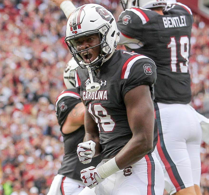 4b329bf4f96 South Carolina's OrTre Smith out for season; K.C. Crosby, Jamel Cook status  updates