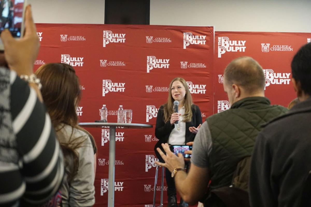 Chelsea Clinton stumps for Hillary at College of Charleston