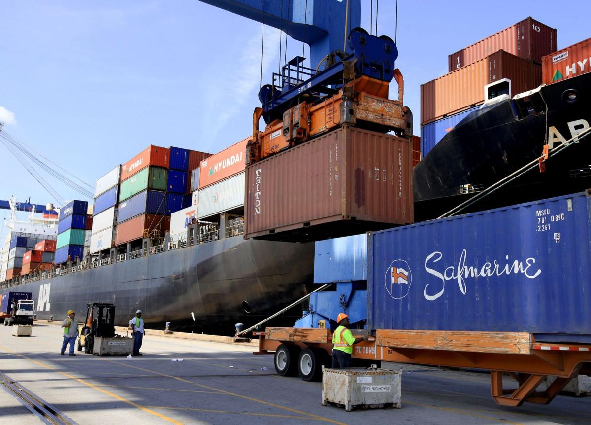 Container business at the Port of Charleston continues to grow