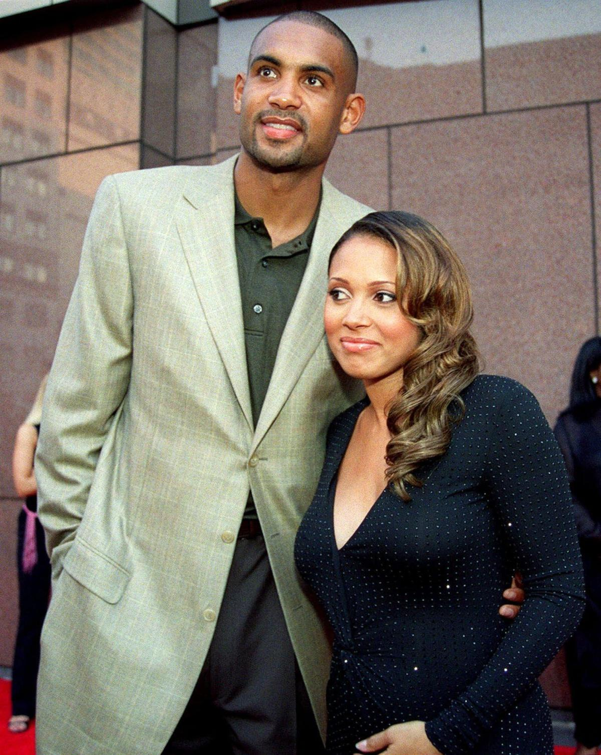 Grant Hill supports wife Tamia at NYC concert