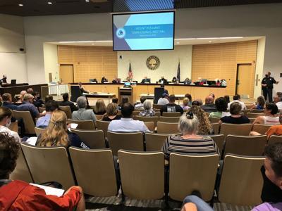 Mt. Pleasant Town Council meeting