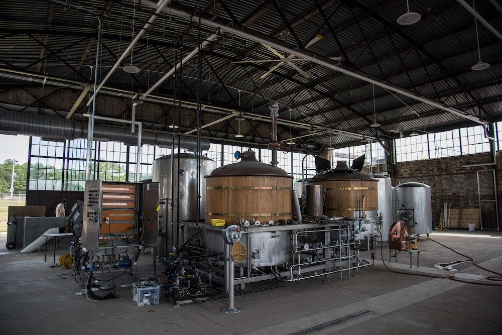 Hunter-Gatherer brew house