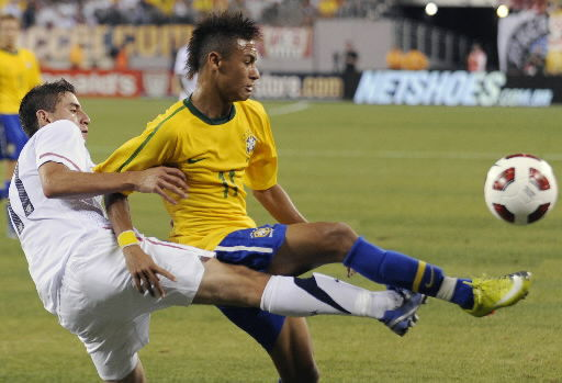 Brazilian youngsters roll over U.S. at New Meadowlands