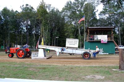 Green acres Resurrected antique tractor show and 'pull' draws hundreds to Adams Run on Halloween
