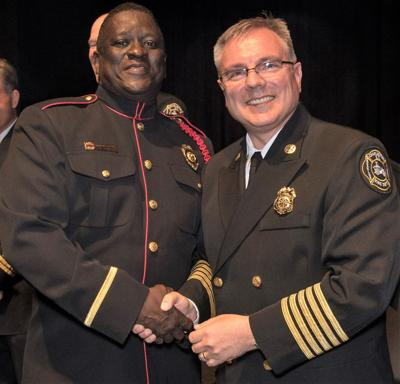 Charleston Fire Department - Kevin Weeks and Chief Dan Curia