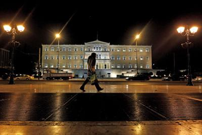 Threat of vote rocks eurozone: Greece could be left to go bankrupt