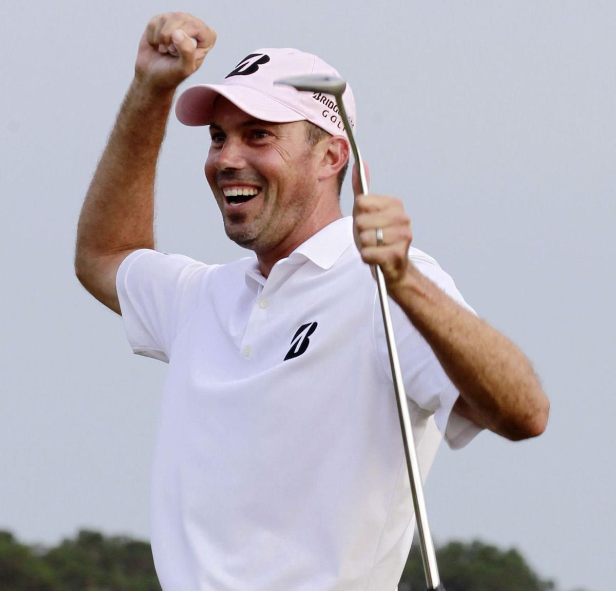 Kuchar all smiles after Players Championship