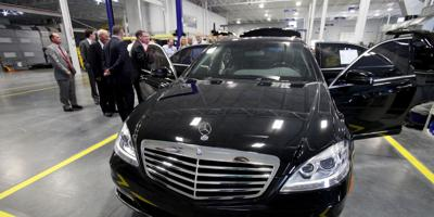 Armored-car plant opens N. Charleston facility puts extra protection on high-end vehicles