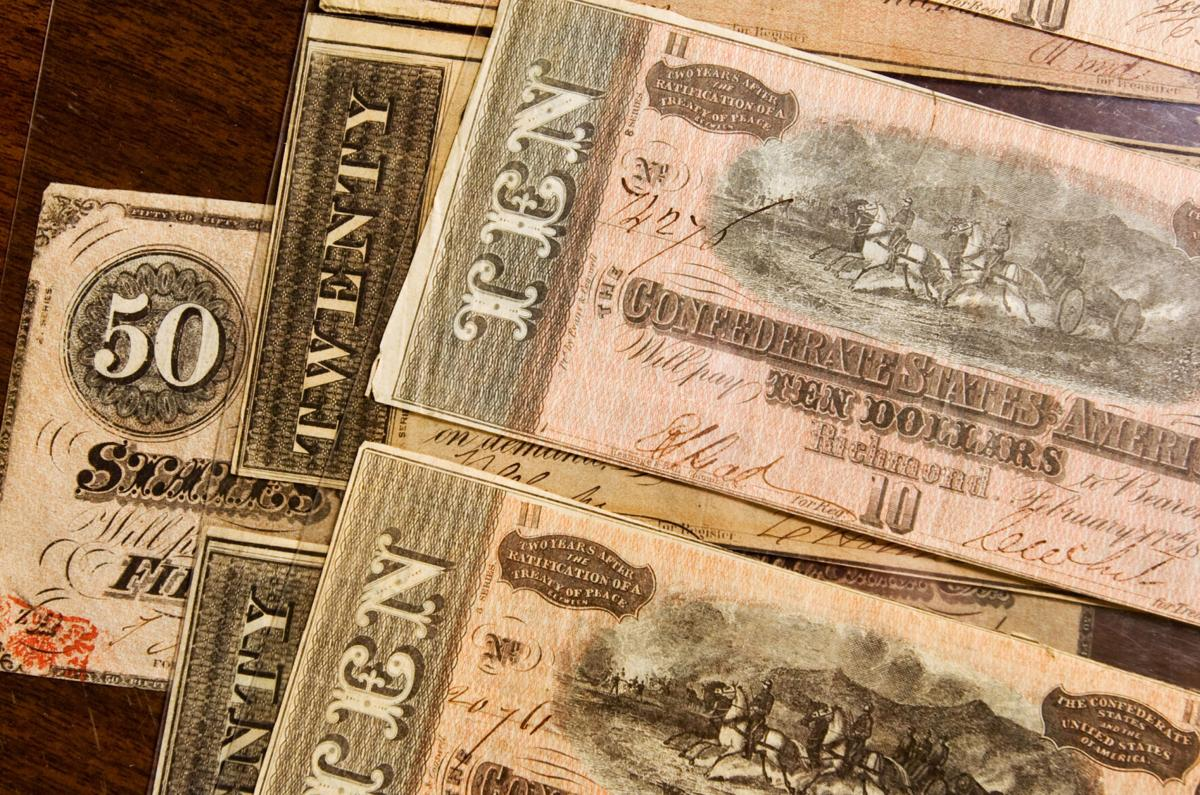 Confederate Cash Slavery