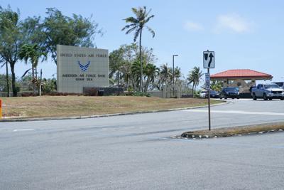 Person dies at Andersen Air Force Base