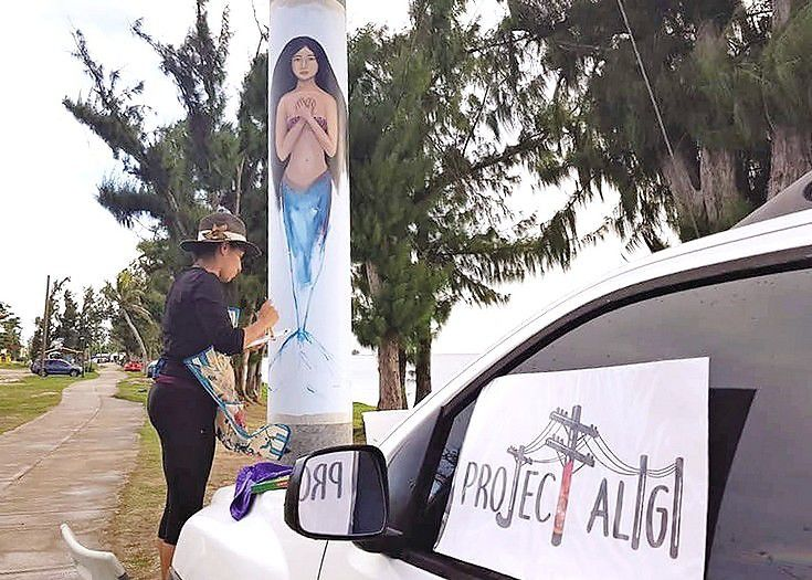 Project Aligi will use artwork to celebrate resiliency of CNMI