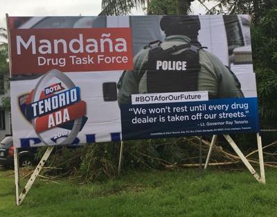 Adelup explains timing of billboards   Guam News   postguam com