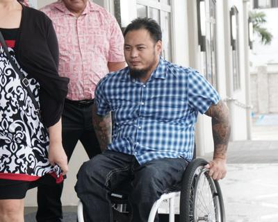 Man who smuggled meth in wheelchair could get early release
