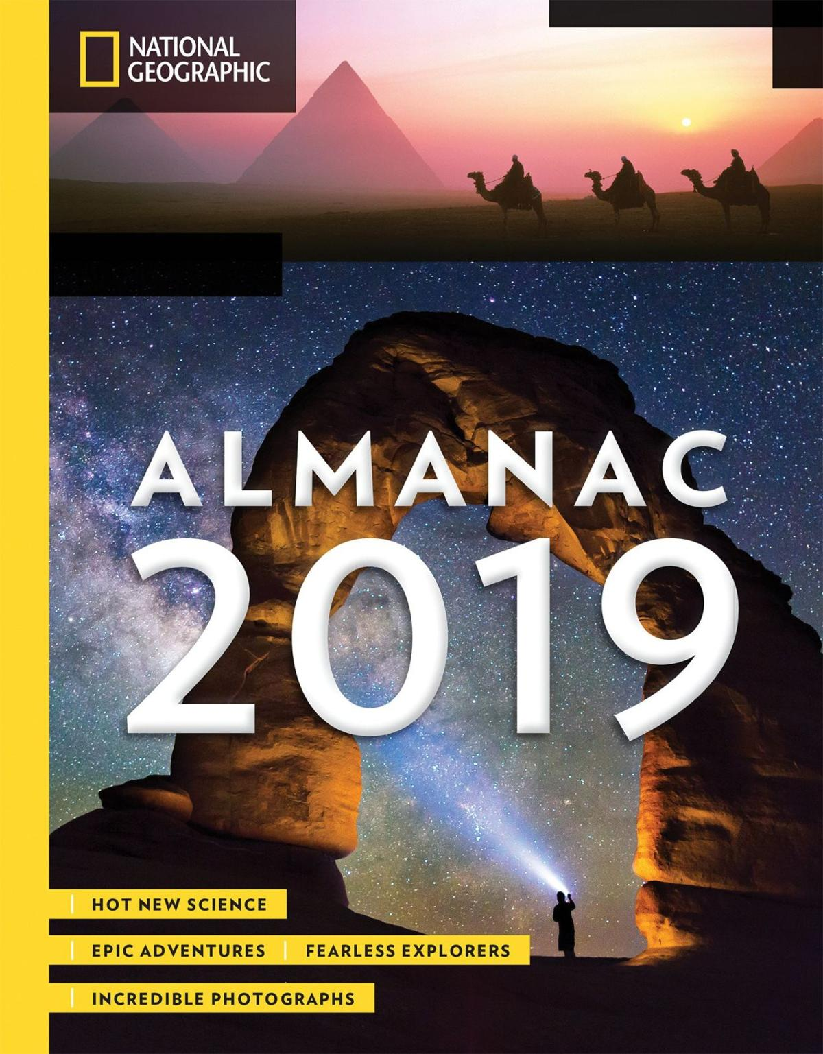 National Geographic debuts lively almanac for grown-ups