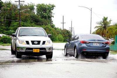 8-inches of rain for parts of Guam, more to come