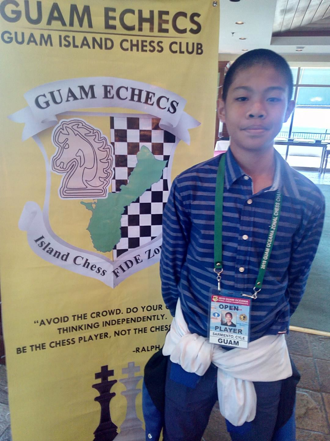 Guam opens doors to top regional chess players