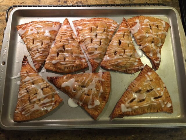 Celebrating citizenship with apple turnovers
