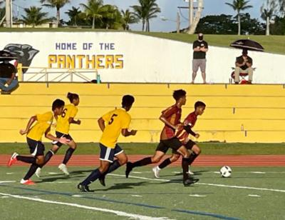 EJ Sablan's hat trick powers FD over Guam High