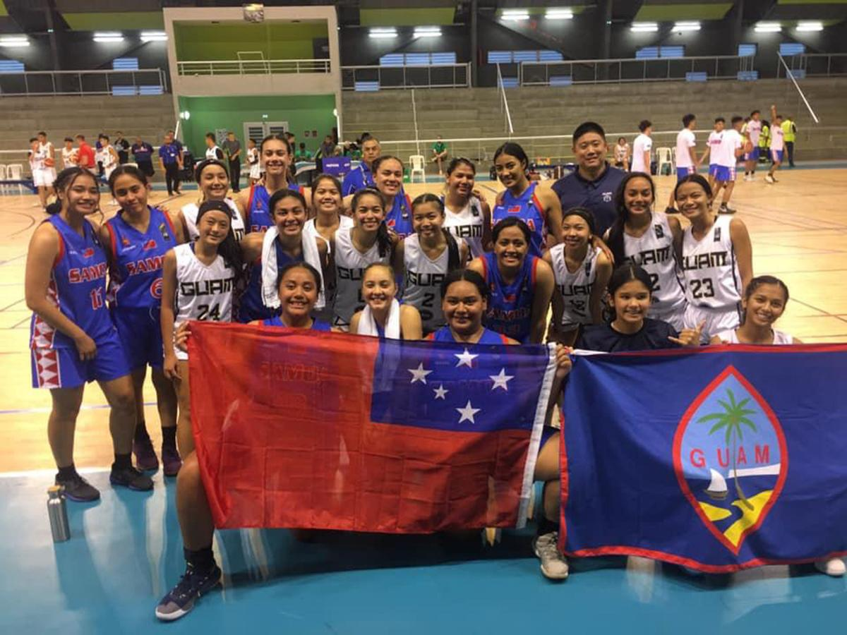 Guam teams fall to Samoa in FIBA qualifier PIC 2