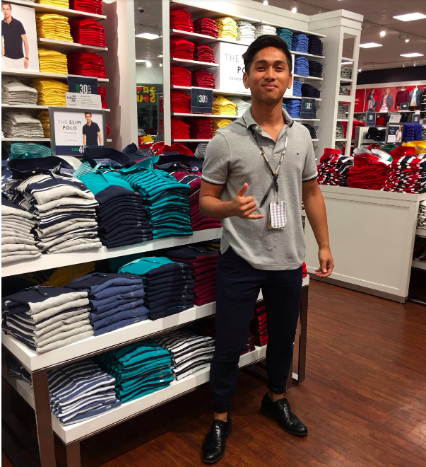 4c39fbfad Venturing into the workforce. TOMMY HILFIGER  ...
