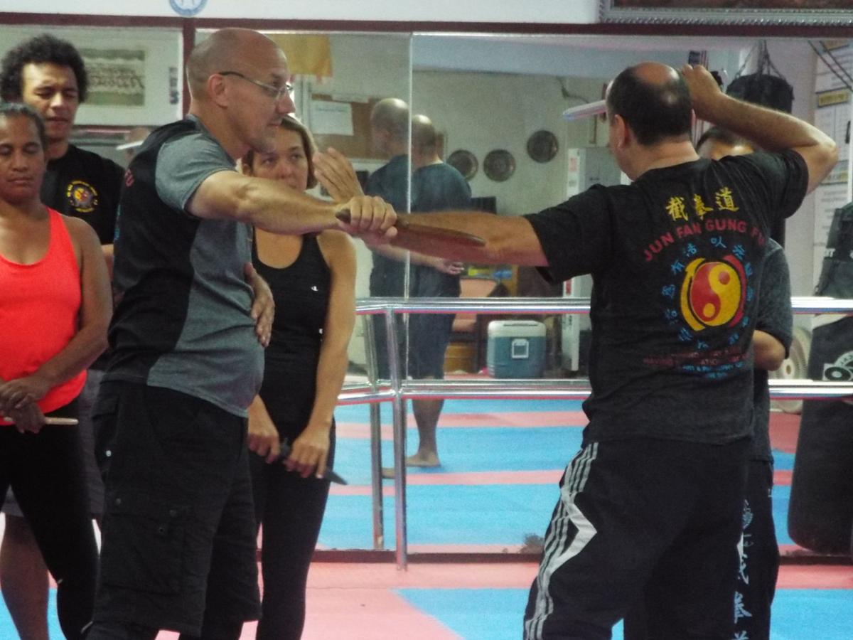 Martial arts expert visits Guam dojo