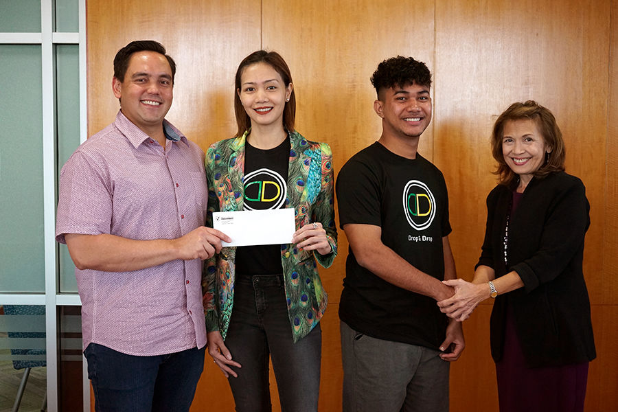 Bank of Guam supports business startup