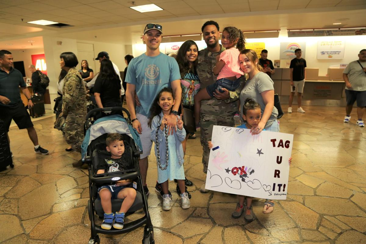 Families welcome Airmen home after deployment