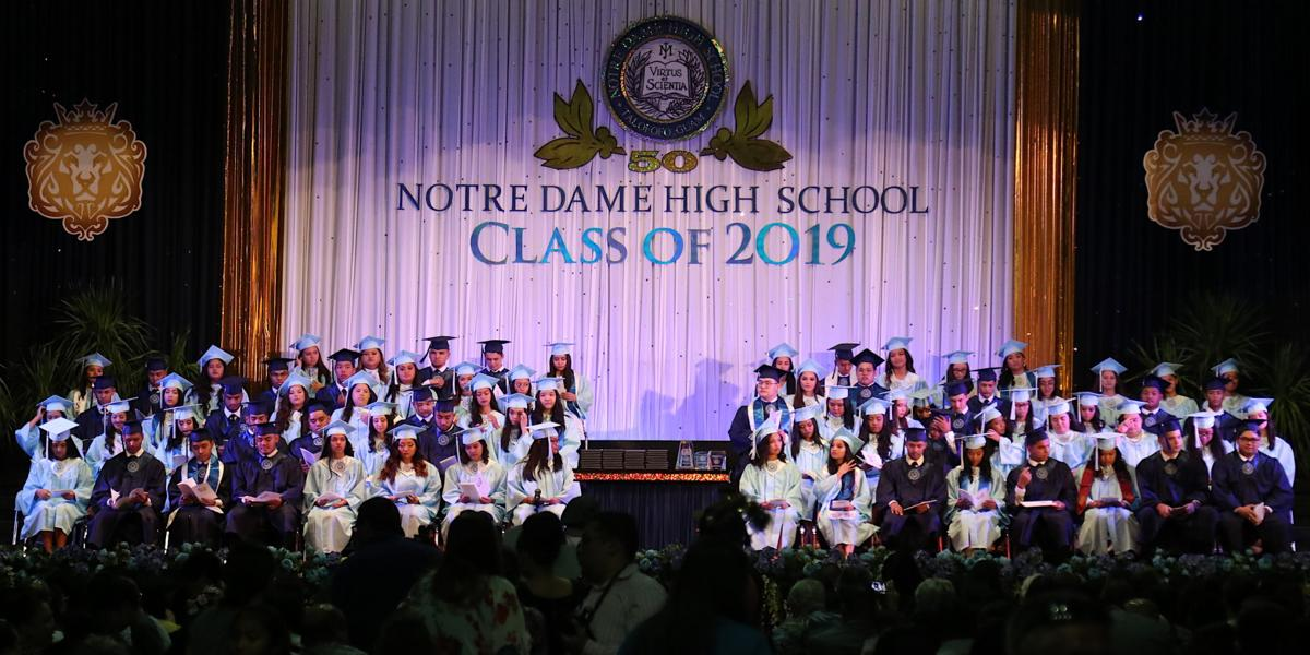 ND holds 50th commencement exercise