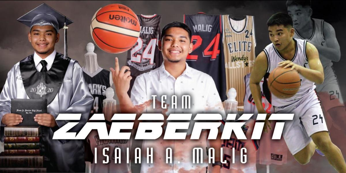 Isaiah Malig embraces grind to reap benefits of sports, life