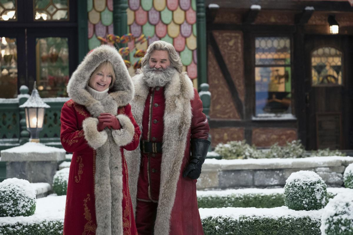 Russell's Santa delivers in the unremarkable 'The Christmas Chronicles: Part Two'