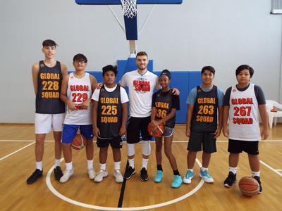 Global Squad Basketball hosts three-day academy