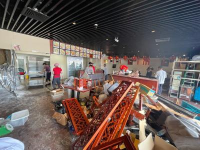 Report on crash into restaurant forwarded to AG